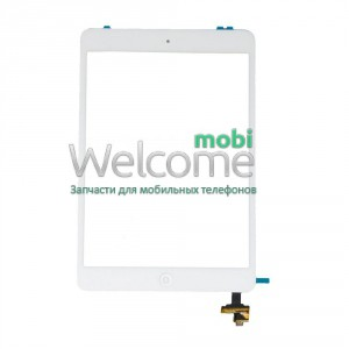 IPAD MINI touchscreen+flex+button+IC white high copy