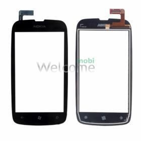 Сенсор Nokia 610 Lumia black orig