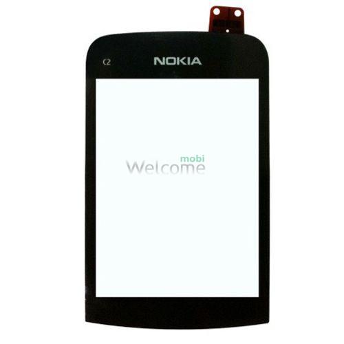 Сенсор Nokia C2-02,C2-03,C2-06,C2-08 black orig