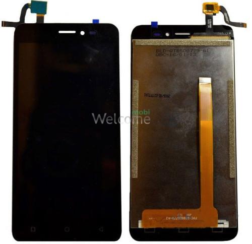 Дисплей Bravis B501 Easy with touchscreen black