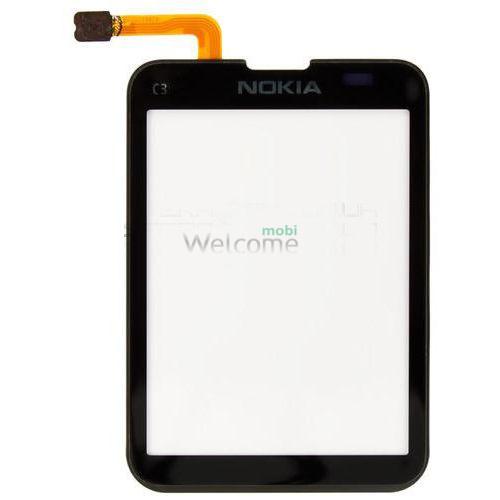 Сенсор Nokia C3-01 black orig
