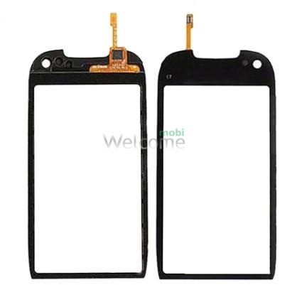Сенсор Nokia C7-00 black with frame orig