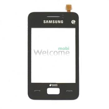 Сенсор Samsung S5220,S5222 black orig