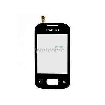 Сенсор Samsung S5300,S5302 black orig