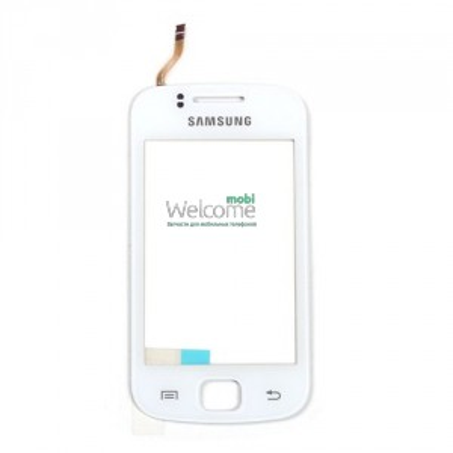 Сенсор Samsung S5660 white orig