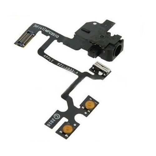 iPhone4G audio jack flex cable black orig
