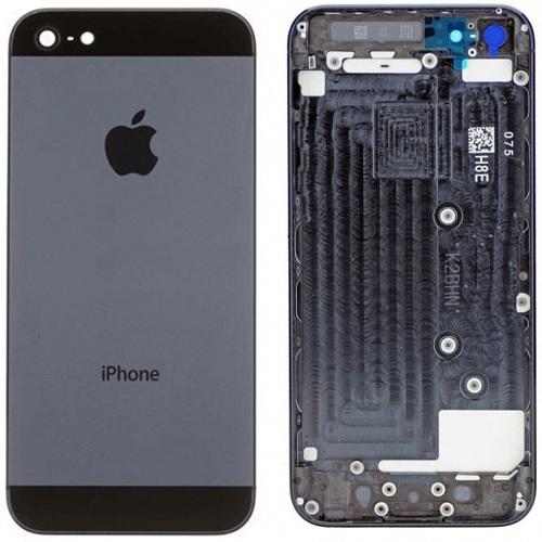 Iphone5 back cover black orig