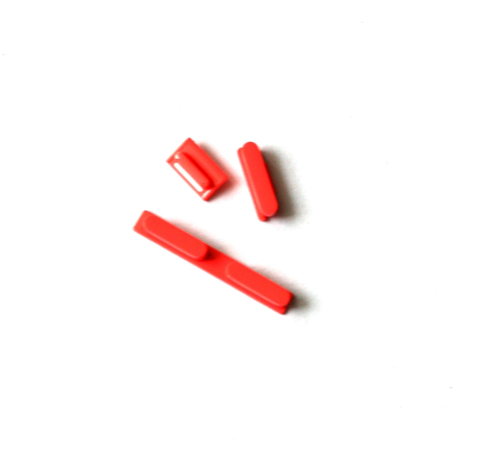 iPhone5C volume key+power key+mute key pink orig