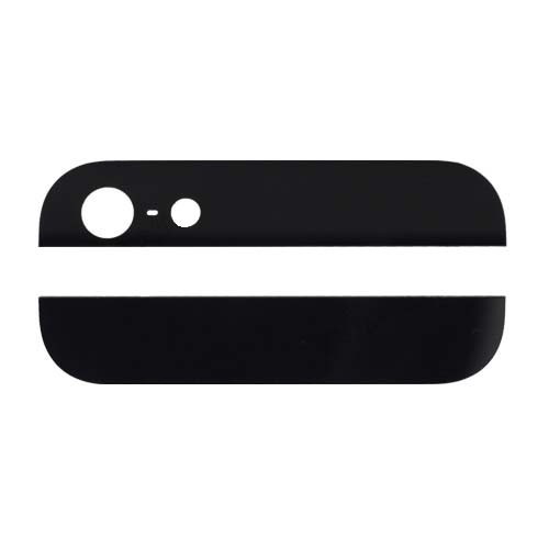 Iphone5 glass for cover black