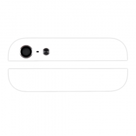 Iphone5 glass for cover white