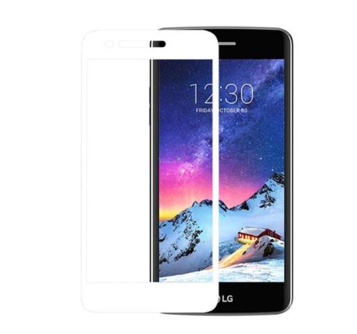 Скло LG X240 K8 (2017) (0.3 мм, 2,5D, з олеофобним покриттям) white