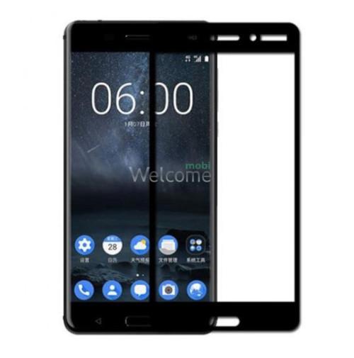 Стекло Nokia 6 (0.3 мм, 2.5D, с олеофобным покрытием) black