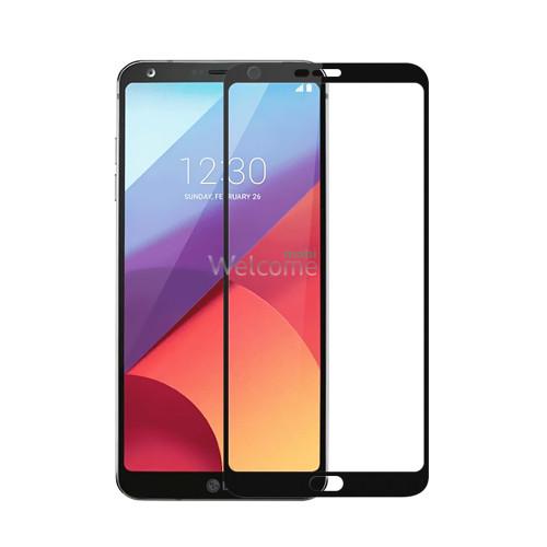 Скло LG H870DS G6 (0.3 мм, 2.5D, з олеофобним покриттям) black