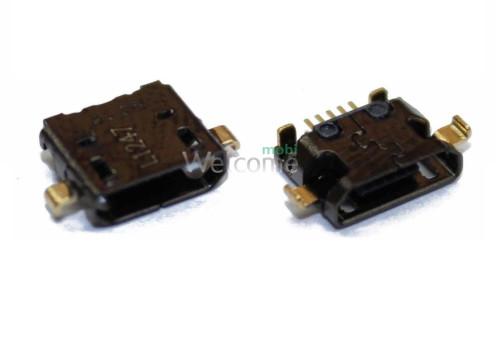 Конектор зарядки HTC 300 Desire/500 Desire, 5 pin, microUSB