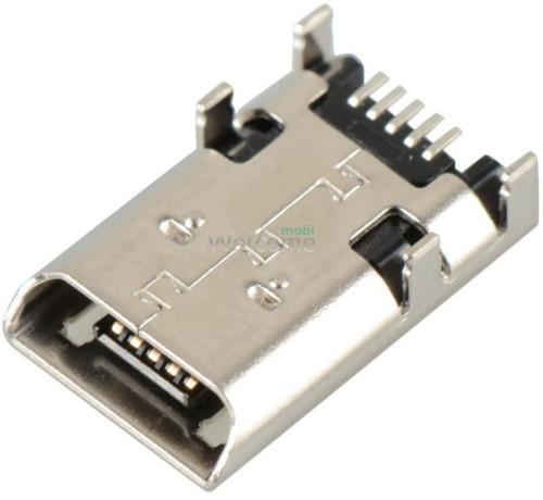 Конектор зарядки Asus T100/TF300T/K001, 5 pin