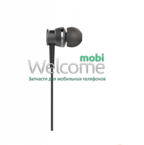 Навушники вакуумні Huawei original black+mic (гарнітура)
