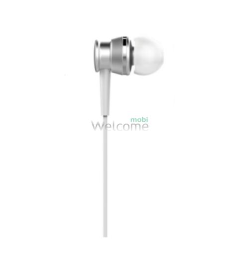 Навушники вакуумні Huawei original white+mic (гарнітура)