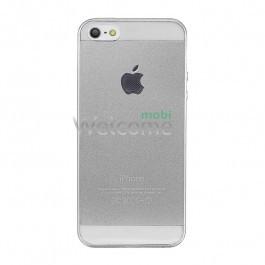 Чохол iphone 5/ 5s силікон білий