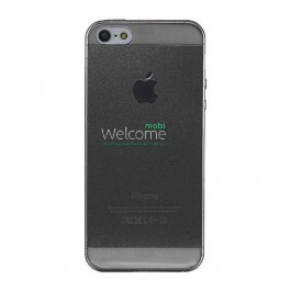 Чохол iphone 5/5s силікон чорний