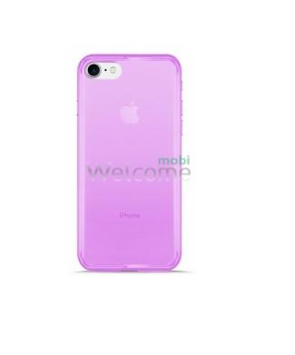 Чохол Remax Ultrathin iPhone 7iPhone 8 силікон прозорий violet 0.2mm