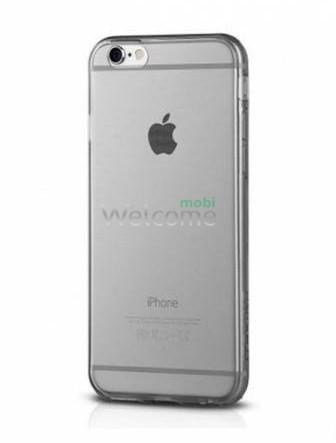 Чехол Remax Ultrathin iPhone 6,iPhone 6s силикон прозрачный black 0.2mm