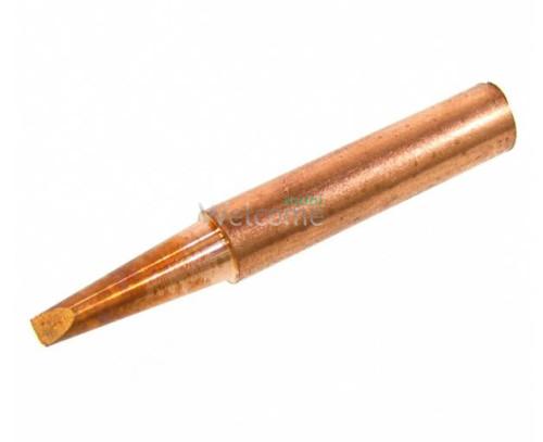Жало паяльника мідне 900M-T-2.4D конус з двостороннім зрізом, 2.4 мм