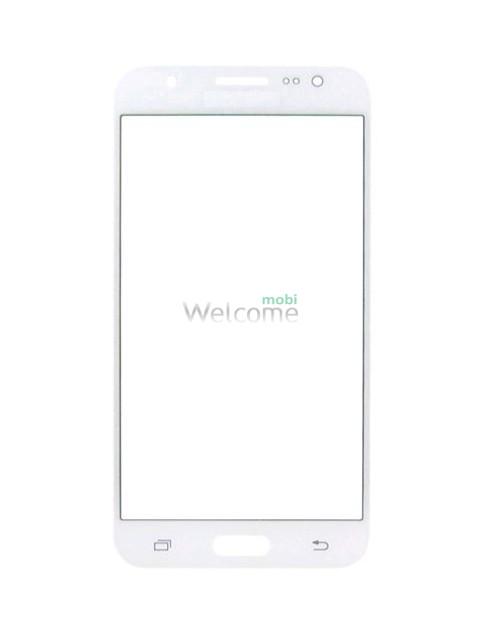 Скло корпусу Samsung J500F Galaxy J5, з OCA-плівкою, white