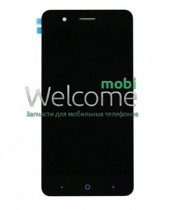 Дисплей ZTE A510 Blade with touchscreen black (rev.#FPC-T50PRSCOA1F)