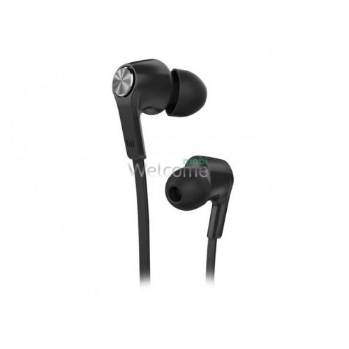Навушники вакуумні Xiaomi MI ORIGINAL black+mic(гарнітура)