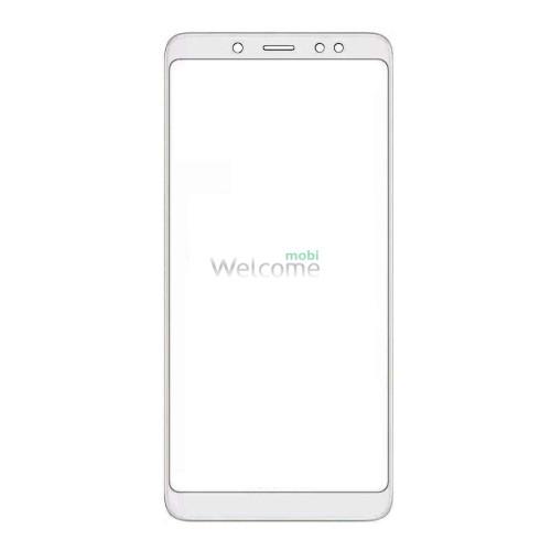 Скло корпусу Xiaomi Redmi Note 5 white