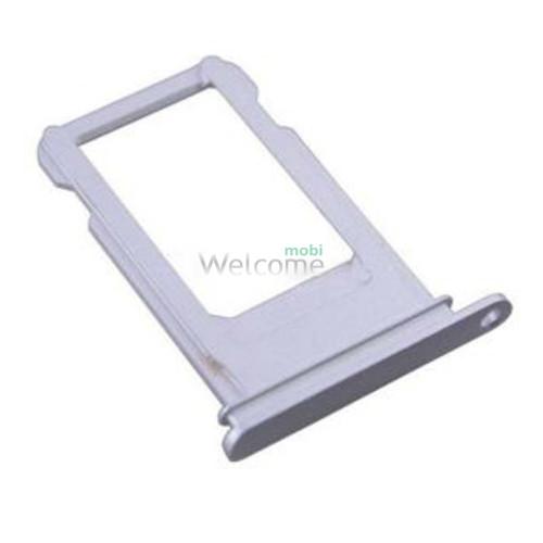 iPhoneX sim holder silver