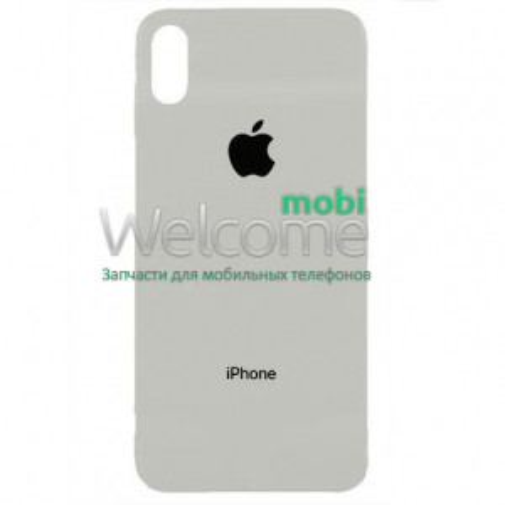 iPhoneX back cover white