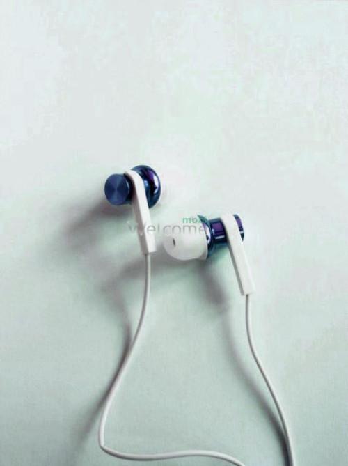 Навушники вакуумні метал Xiaomi MI7 blue+mic (гарнітура)