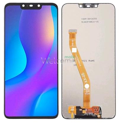Дисплей Huawei P Smart Plus/Nova 3i в зборі з сенсором black
