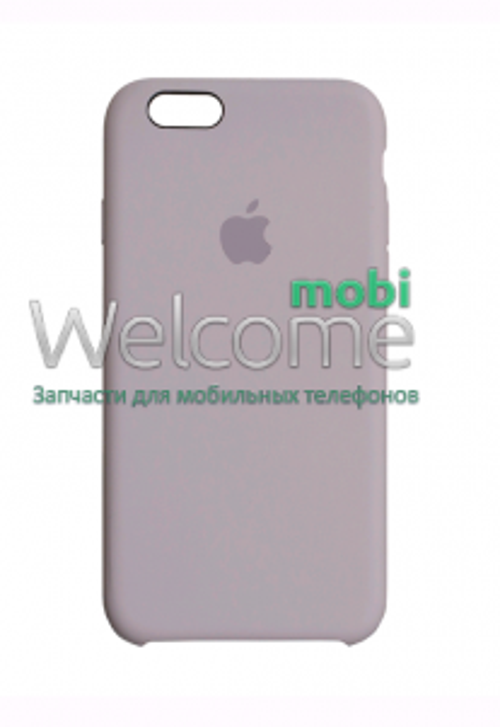 Чохол силікон Original iPhone 6/iPhone 6s Lavender