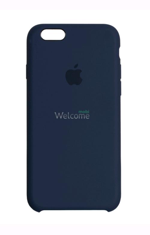 Чохол силікон Original iPhone 6/iPhone 6s Midnight Blue