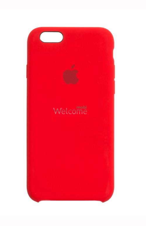 Чохол силікон Original iPhone 6/iPhone 6s Red