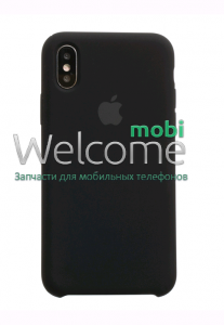Чохол силікон Original iPhone X/XS Black