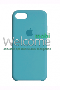 Чохол силікон Original iPhone 7/iPhone 8 Sea Blue