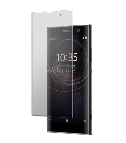 Скло Sony H4113 Xperia XA2 (0.3 мм, 2.5D, з олеофобним покриттям) black