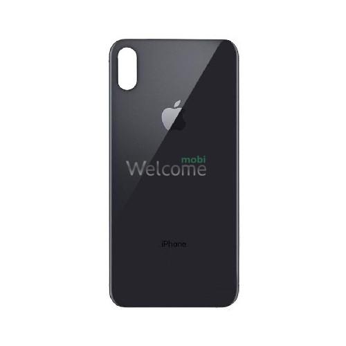 iPhoneXS Max back cover grey
