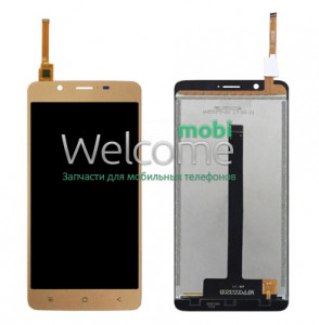 Дисплей Blackview P2 Lite with touchscreen gold