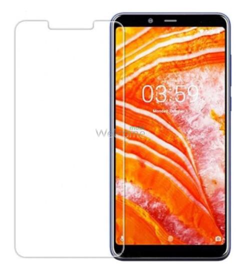 Скло Nokia 3.1 Plus (0.3 мм, 2.5D, з олеофобним покриттям)