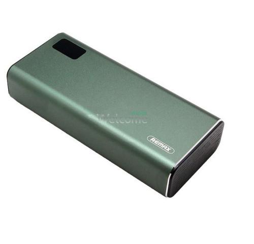 Зовнішній акумулятор (power bank) Remax RPP-155 Mini Pro 10000mAh green