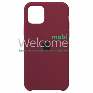 Silicone case for iPhone 11 Pro (52) marsala
