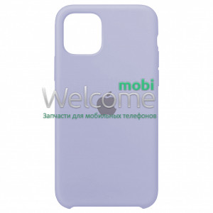 Silicone case for iPhone 11 ( 5) lilac cream