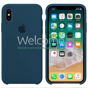Silicone case for iPhone XR ( 3) blue