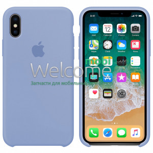 Silicone case for iPhone XS Max ( 5) lilac cream