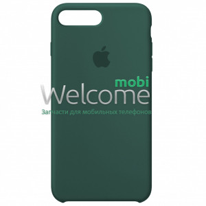 Silicone case for iPhone 7 Plus/8 Plus (58) pine green