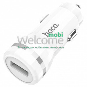АЗП HOCO Z27A Staunch 3A 1USB Quick Charge 3.0 18W white